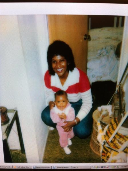 My mommy & me! #mommysgirl #throwback