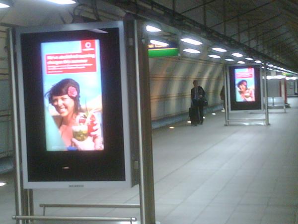#Vodafone all over