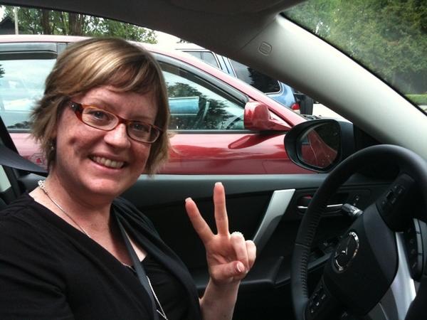 New car! Mazda3