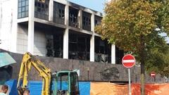 Uitgebrand 2 #brand #casino #groningen