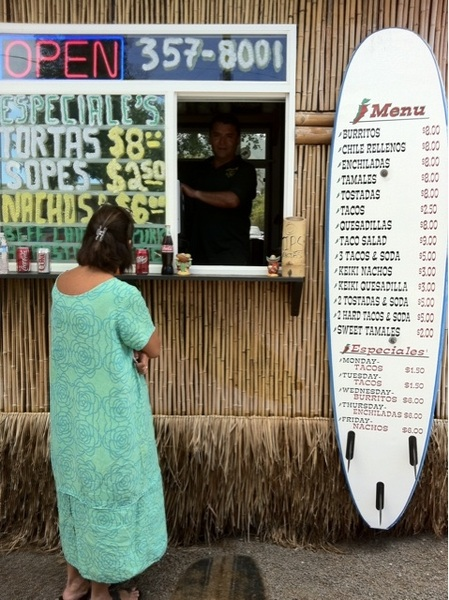 Awww yeah! Amigos express shack on vineyard: tacos for lunch!!