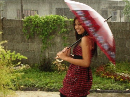 Rain on Aileen
