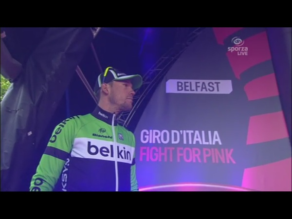 #Giro - PHOTO - @mtjallingii is waiting to get his blue KOM jersey. Full report and results coming soon.