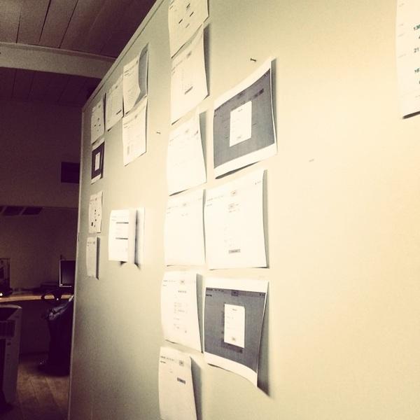 Ik heb deze muur maar geclaimd @mobypicture #workatmoby