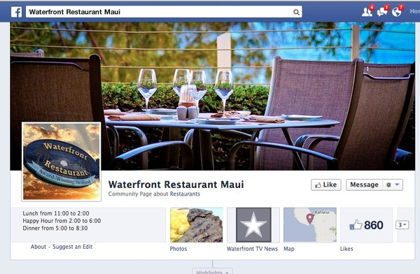 Waterfront Maalaea Announces on FB: Closed for Business