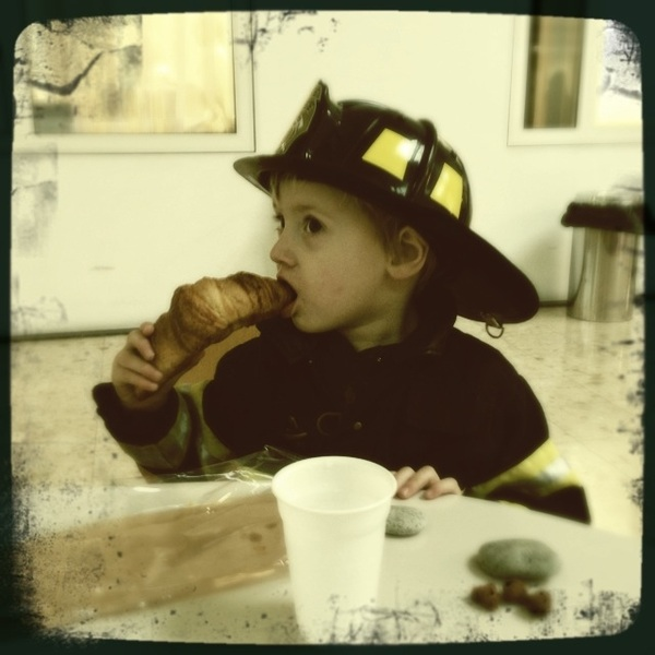 Fletcher of the Day: Firefighters like croissants