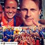 Thanks topper!!😊💪 #Repost @frankwijbenga with @repostapp ・・・ My teammate, friend, inspiration, leader, captain. Thank you for all the memories, for letting me be a small part of your career and for your trust. Congratulations on an inspirational international career, your leadership and drive are an example to many.