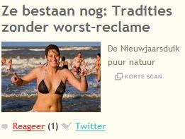 Soep met ballen maar zonder reclame - kapitalismekritiek op @joop_nl