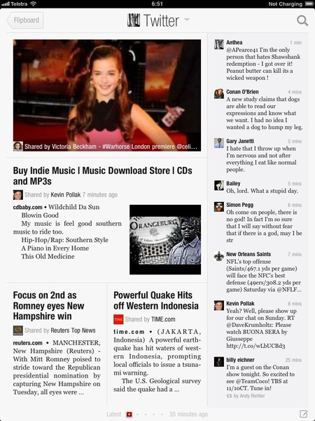Dear @Flipboard you are the greatest app for iPad and iPhone but why did you kick my twitter feed off I can't add it