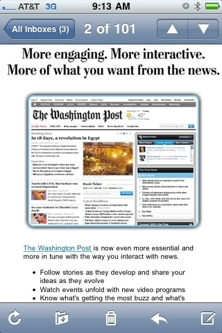 Washingtonpost.com now works with GReader. Needs more GOP factcheck, less stenography. #p2   http://is.gd/72r35R