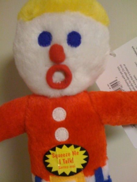 My cat gets too many gifts. The latest: Mr. Bill  #YesIamTweetingAboutMyCatOnAFridayNight