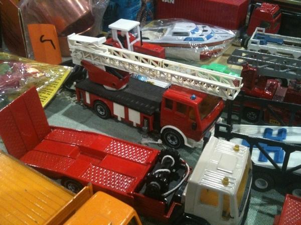 Jeugdsentiment, die brandweerwagen had ik!