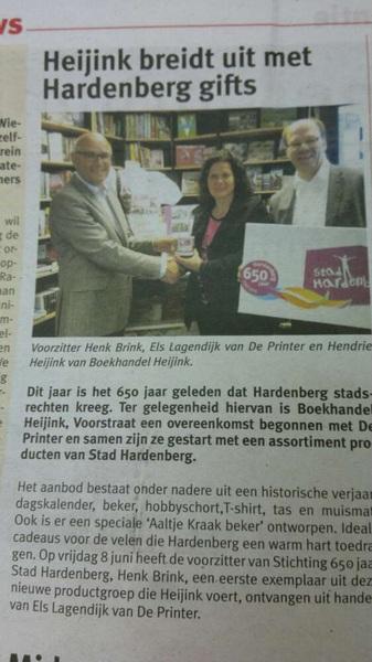 Heel creatief @HendrieHeijink :) #goedbezig Succes met dit nieuwe product! Ben zelf echter Hoogevener :(
