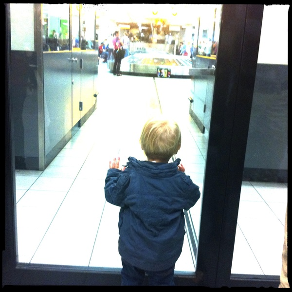 Fletcher of the day: waiting for Papa