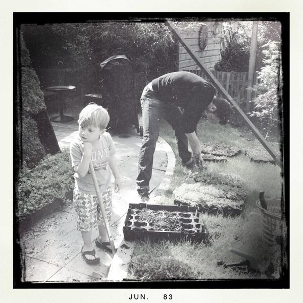 Fletcher of The Day: Little gardener