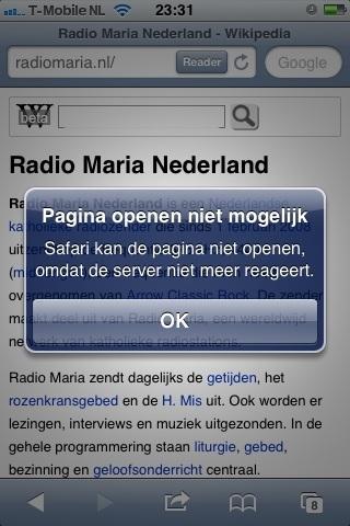 Goede reclame voor Radio Maria door Mariska Orbán de Haas bij #p&w #slaafsportretvanrome