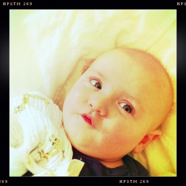 Fletcher of the day: pucker up!