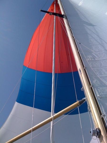 Spinaker erop! #IJsselmeer