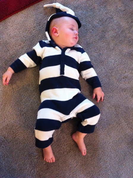 Fletcher of the day: stripes