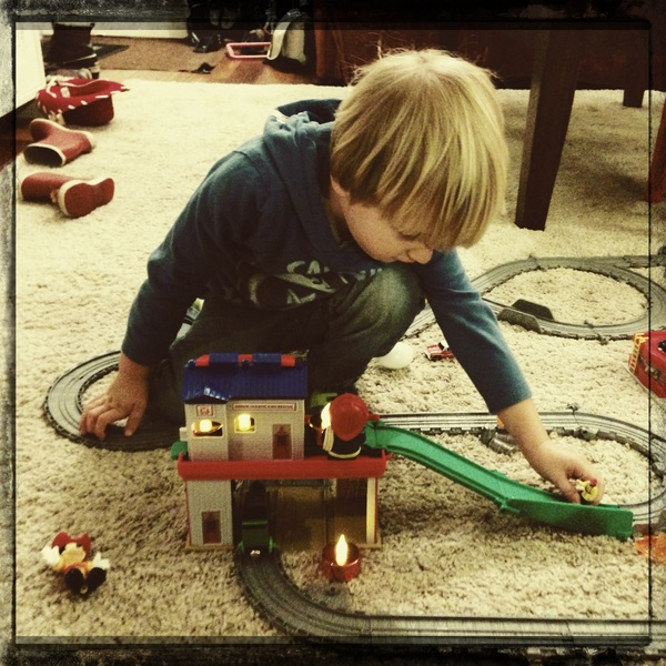 Fletcher of the day: Train