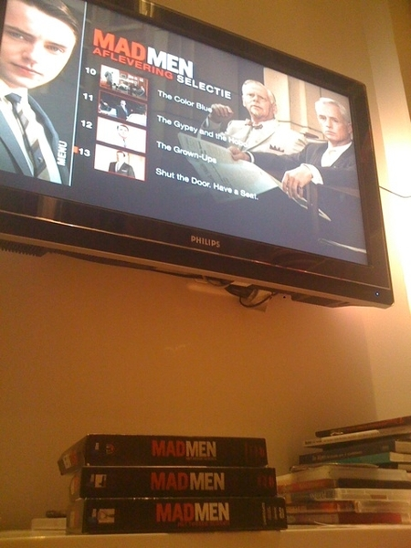 Just finished three seasons #madman, now what...?