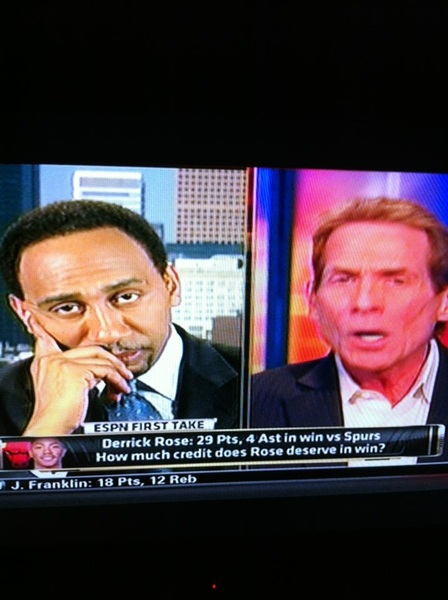 This is why I like seein these two argue lmfao @StephenASmith @RealSkipBayless