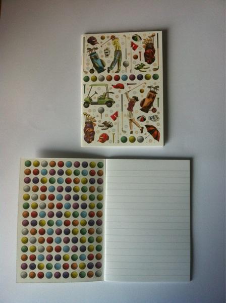 Primeur in ons assortiment op @AmsterdamGolf in de categorie 'Bestaat dat dan?': #Golf #Doodle #Book. Mooi en uniek!