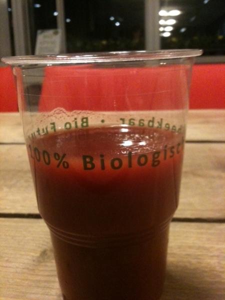 Zeer verantwoord drankje bij borrel #kringuck #s2m030