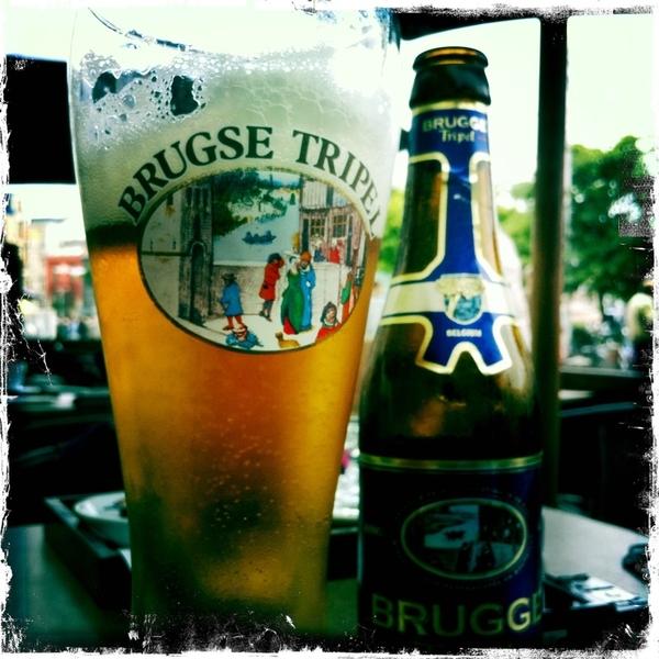 Nog steeds prima weer aan de Belgische kust, dus nog maar een fijn degustatiebier. Deze krijgt een 7,8