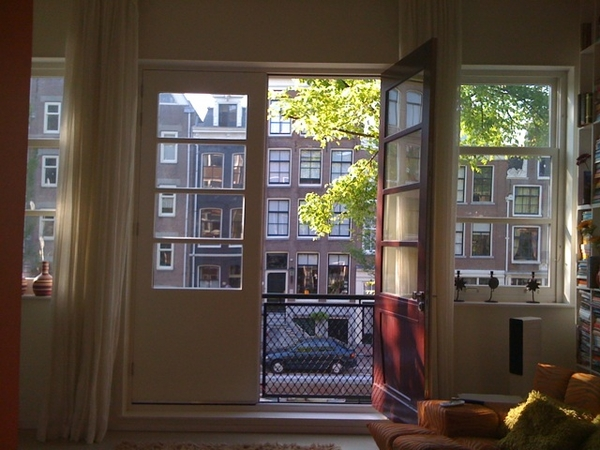 Privileged and grateful on the Bloemgracht