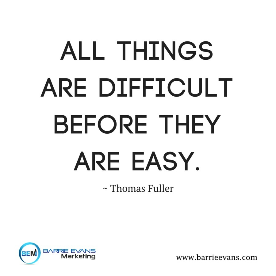 all things are difficult before they are easy essay An essay has been defined in a variety of ways one definition is a prose composition with a focused subject of discussion or a long, systematic discourse it is difficult to define the genre into which essays fall.