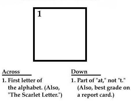 Crossword for Blonds