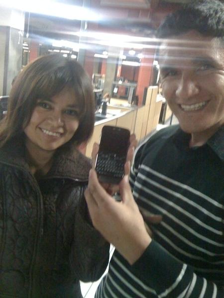 El Nokia e71, el otro protagonista de la @coberturamovil de @susanamorg en el #30s