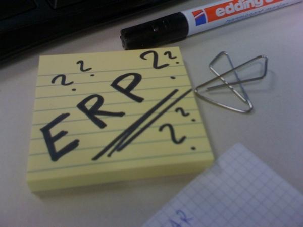 Endlich Richtig Planen...? Mit #ERP ?:-)