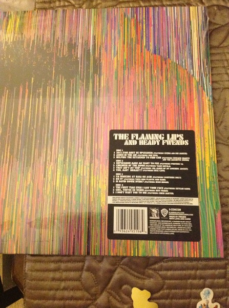 "@waynecoyne I got the last copy of ""Heady Fwends"" in Hawaii!"