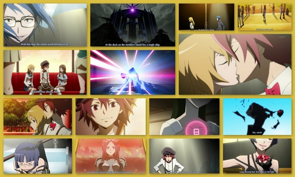 #StarDriver ep22: played completely straight up until the end. I enjoyed this veiled backstory. Wonderful. #anime