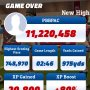 I put up 11M pts in game mode Playmaker. Come break it. #FlickQuarterback16 #Android #Apple