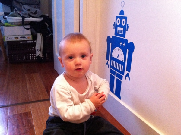 Fletcher if the day: robot