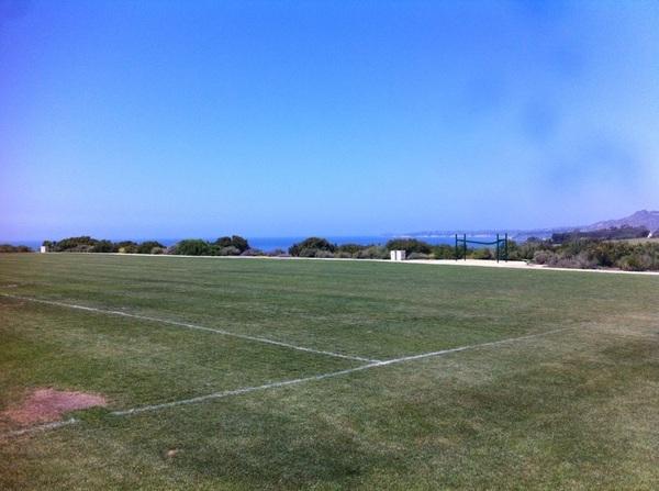 Beautiful day for a brutal workout... soon to be underway w/ @kananikroll #eeeekkk