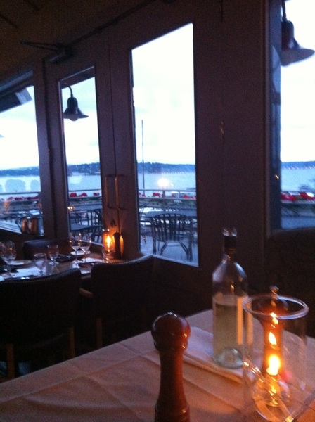 Here for another amazing meal at Daniel's Leschi. Table 1 rules!
