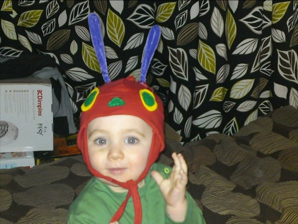 My gorgeous Very Hungry Caterpillar