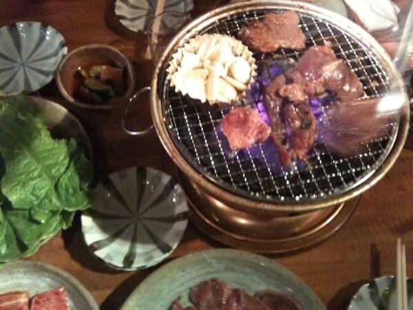 久々焼肉食べ放題。お腹いっぱい~( ´ ▽ ` )ノ