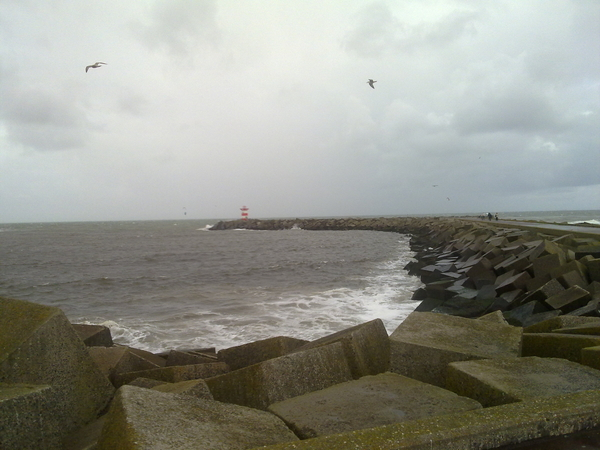 Heftige wind!
