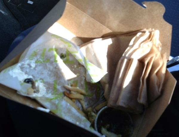 @TLTFood still delicious the day after! R.I.P. @tltfood carnitas fries #foodies #hooplablog #carnitas