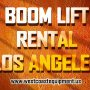 boom lift rental los angeles