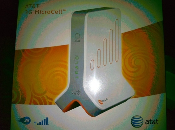 Giving this a try, to keep iPhone4 connected to calls: AT&T 3G MicroCell