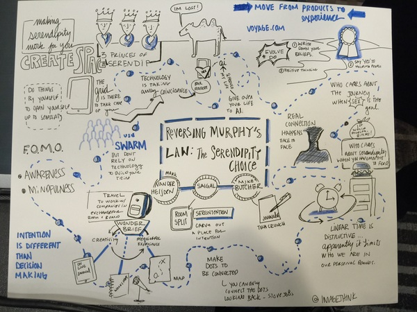 Our panel on serendipity as a business model and attitude at #SXSW summarised