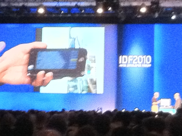 Context Aware Devices Are the Future, Fodor's travel tips demos mobile app #IDF10
