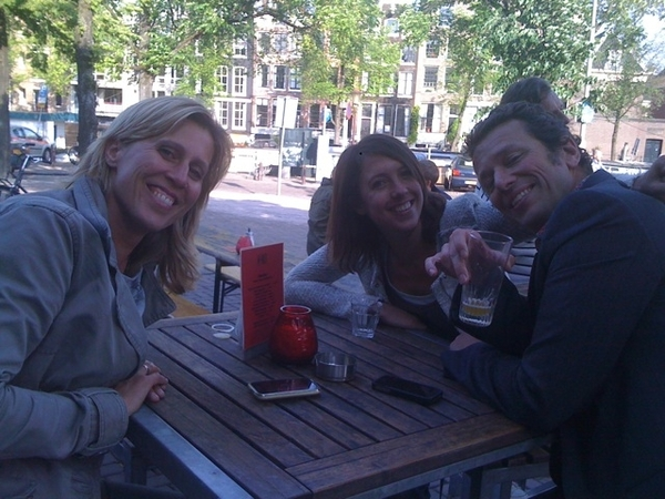 Start of the weekend w/ my dear collegues!