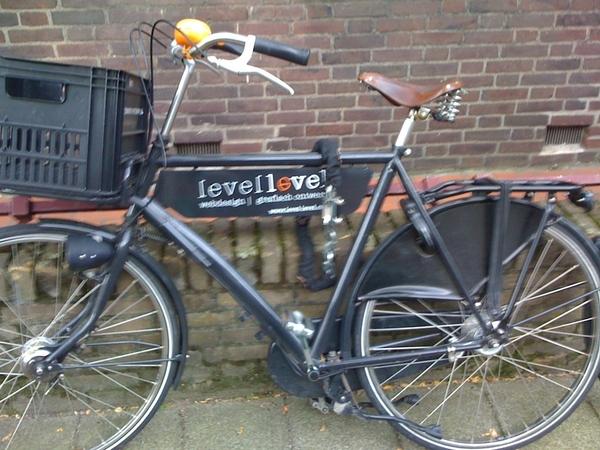 De fiets van @levellevel staat hier nog.